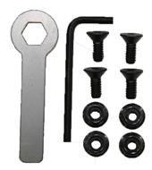 400401 Plate Hardware Replacement Kit - Standard and Tactical