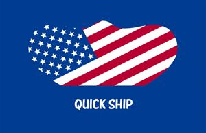 "#0045 (6) ""Quick Ship"" USA Flag Masks"