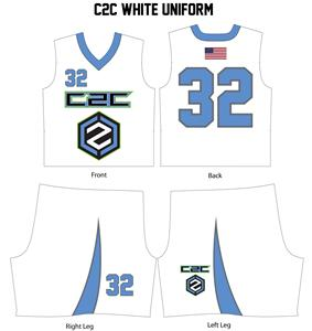 Men's Lacrosse Uniform--WHITE