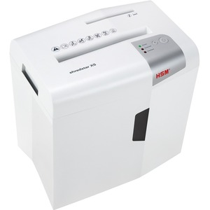 HSM shredstar X5, White-5 sheet, cross-cut with separate CD slot, 4.8 gal. capacity