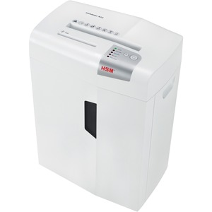 HSM shredstar X12, White-12 sheet, cross-cut with separate CD slot, 6.1 gal. capacity
