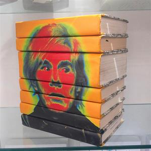 Books with Andy Warhol's Self Portrait