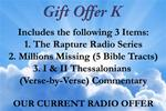 Gift Offer K (Previous Radio Offer)