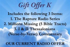 Gift Offer K (Our Current Radio Offer)