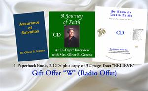 Gift Offer W (Current Radio Offer)