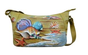 Anuschka Everyday Shoulder Hobo Gift of the Sea