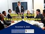 Shingo Model Executive Overview Online Training Video