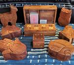 Wood Boxes from India