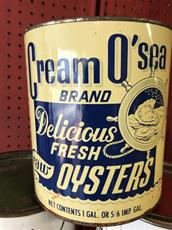 Oyster Can, Cream O' Sea