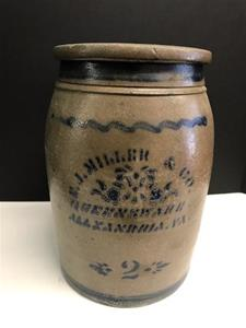 2-Gallon Stoneware Crock from Miller & Co.