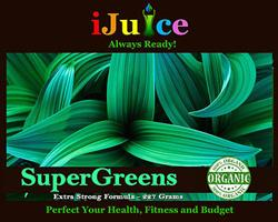 iJuice SuperGreens Juice