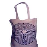 JMA - Chartres Labyrinth Tote Bag