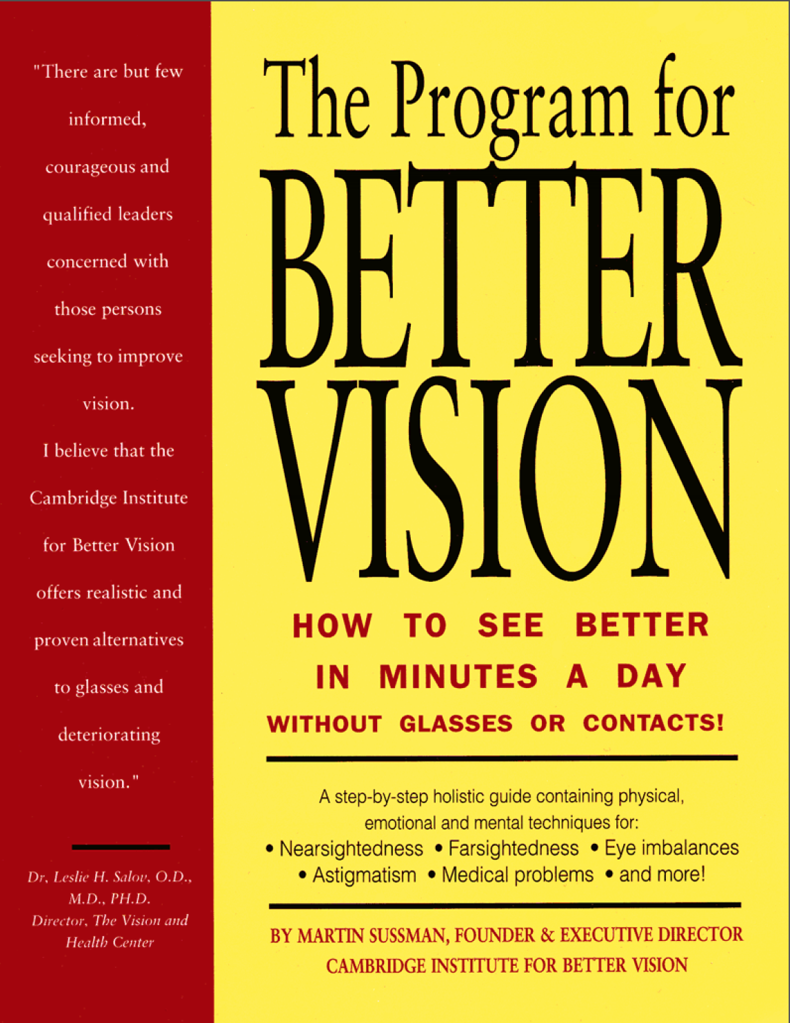 Book - Program for Better Vision