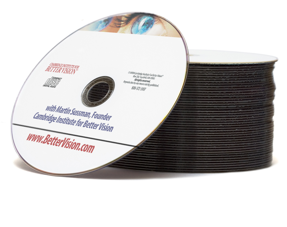 Inside The ADVANCED Program for Better Vision: AUDIO CDs - MAILED ONLY