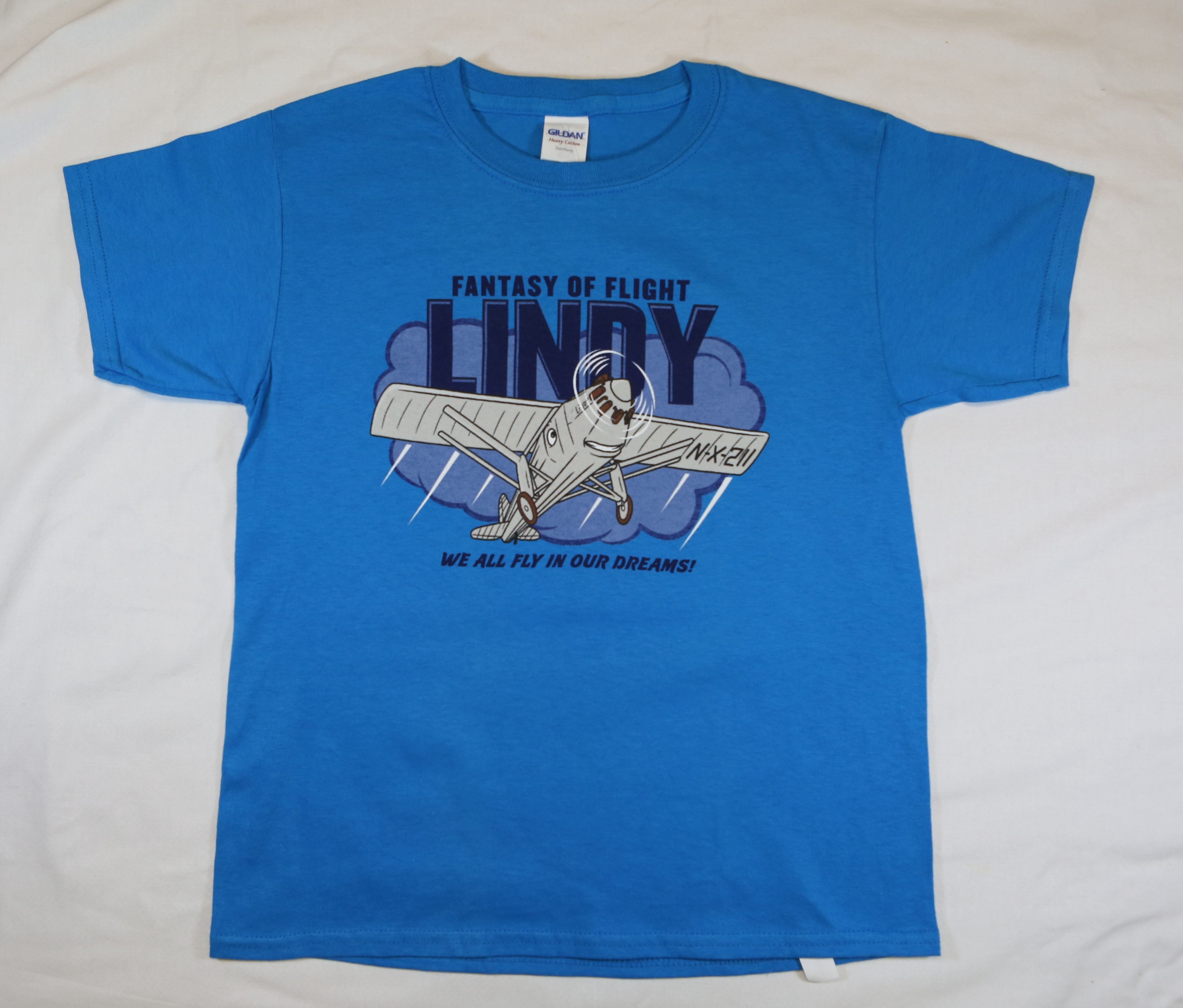 Lindy Character T-shirt - Adult - Sapphire