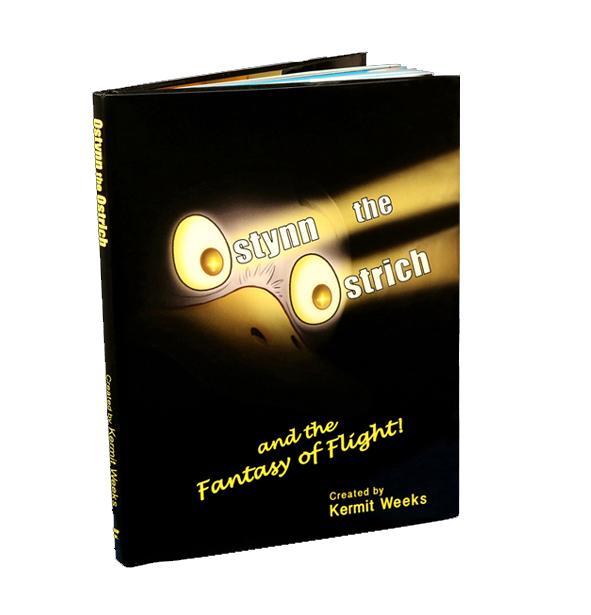 Ostynn the Ostrich and the Fantasy of Flight