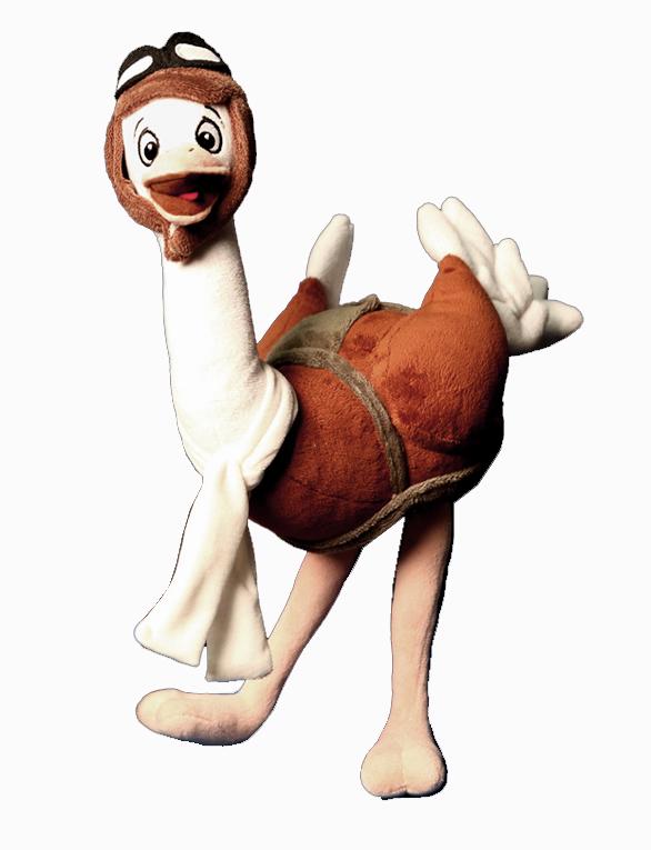 Ostynn the Ostrich Character Plush