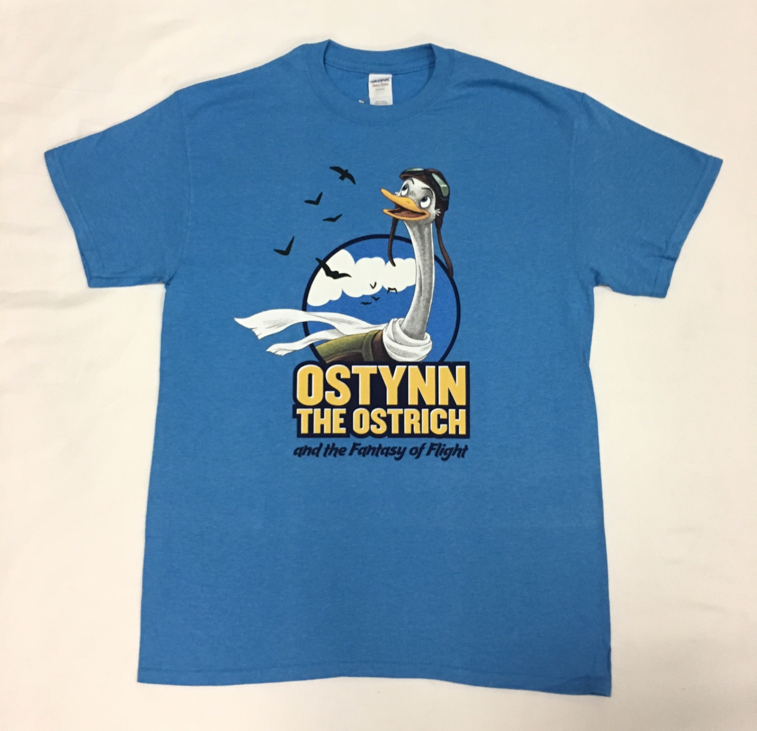 Ostynn Character T-shirt - Adult - Sapphire