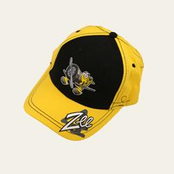 Zee Character on Black/Yellow Hat