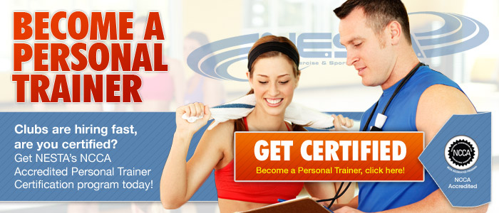 Become a NESTA Personal Fitness Trainer