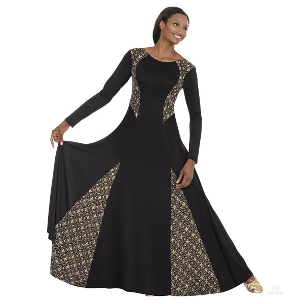 1351888a8 Royalty Dance Dress - Truly Anointed Scarves and Praise Dance Attire
