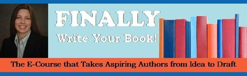 FINALLY Write a Book Logo