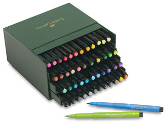faber castell 1 How to Pack Art Supplies for Summer Travel