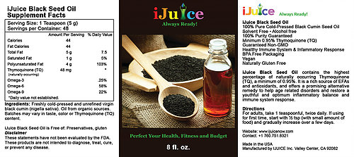 iJuice Black Seed Oil