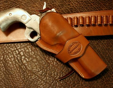 Cowboy Crossdraw with Makers Band - Bullard Leather Mfg