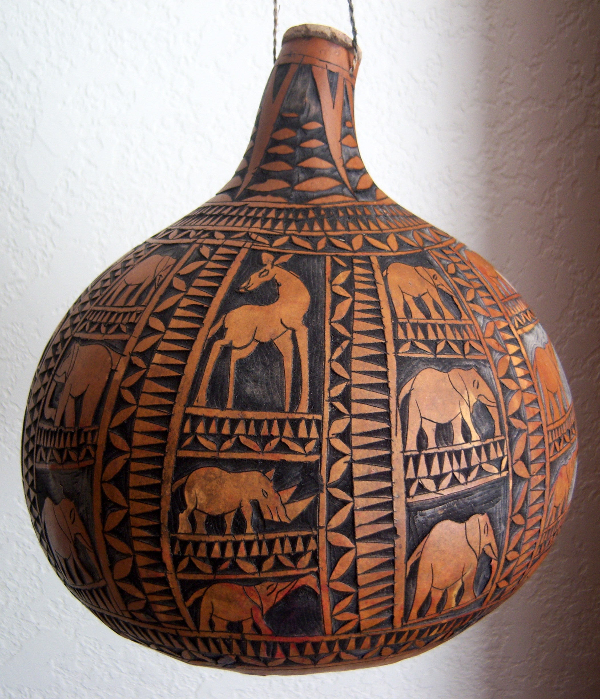 Carved Gourd Casa Mexicana Imports