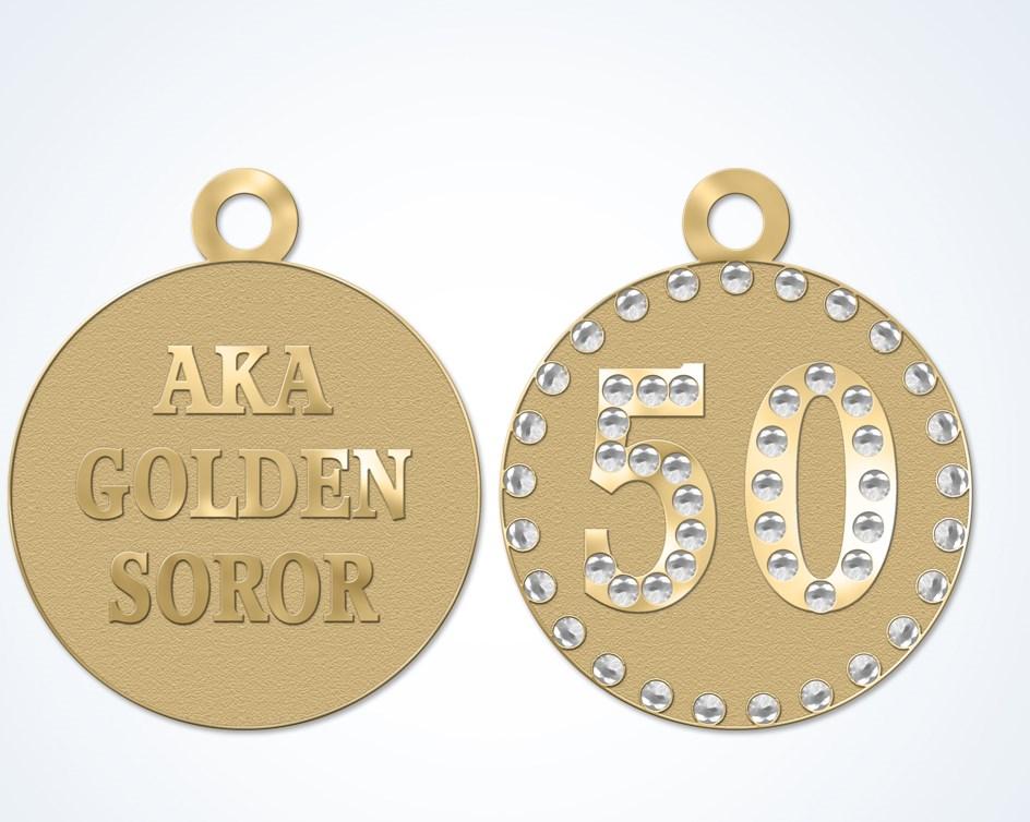 Aka Golden Soror 50 Bracelet Jlm Jewelry Amp Accessories