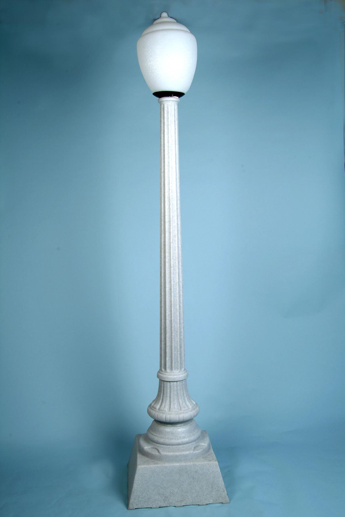 Street Lamp Granite Resin Arizona Party Rental Sw