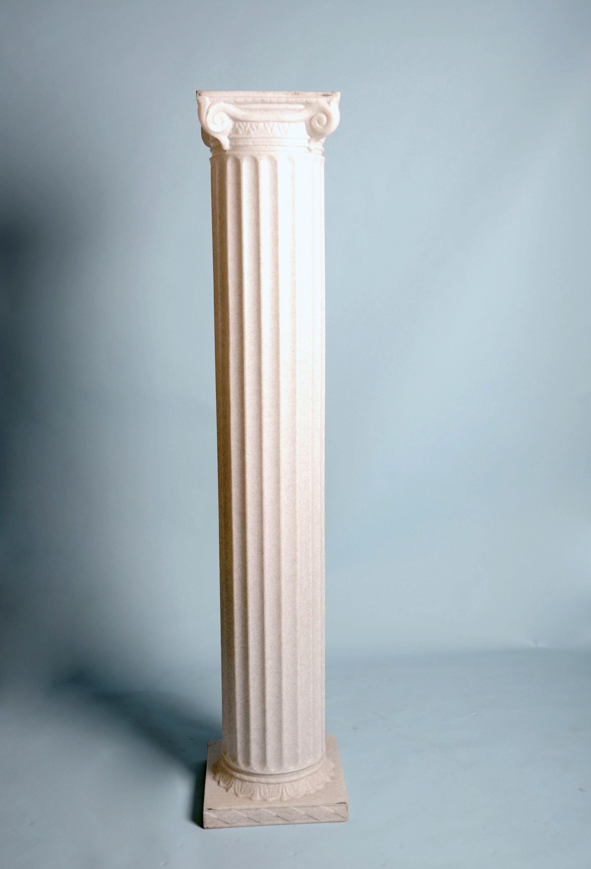 Roman Column Granite Resin 72 Quot Hx16 Quot D Arizona Party