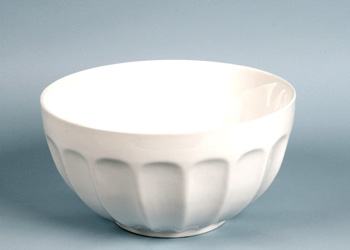 Round White Ceramic Salad Bowl 1 5 Gal Arizona Party