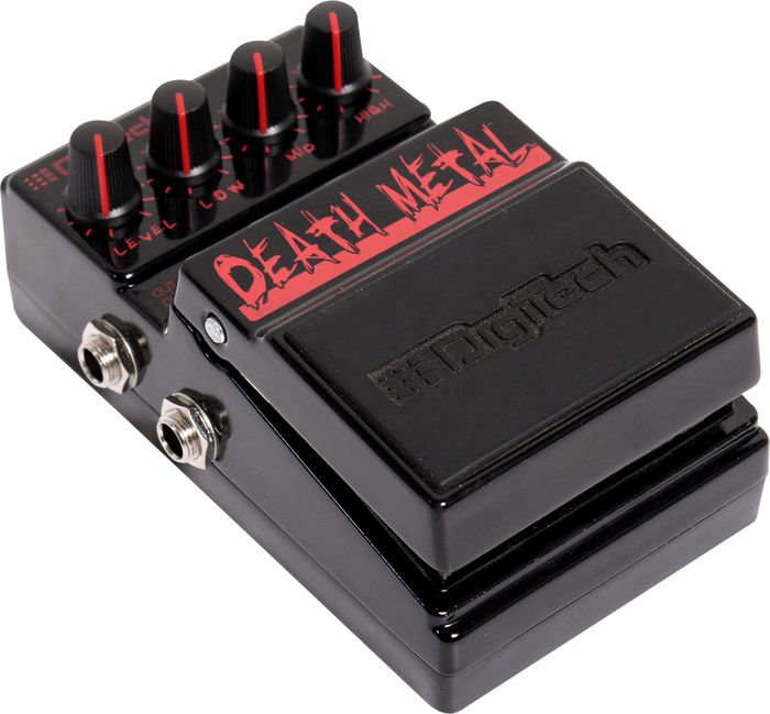 digitech death metal distortion effect pedal agoura music. Black Bedroom Furniture Sets. Home Design Ideas