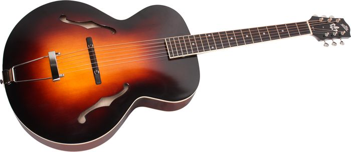 the loar lh 600 hand carved archtop acoustic guitar agoura music. Black Bedroom Furniture Sets. Home Design Ideas