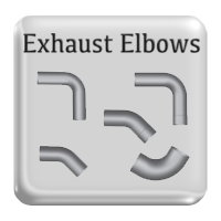 Exhaust Elbows, truck elbows, truck pipe elbows