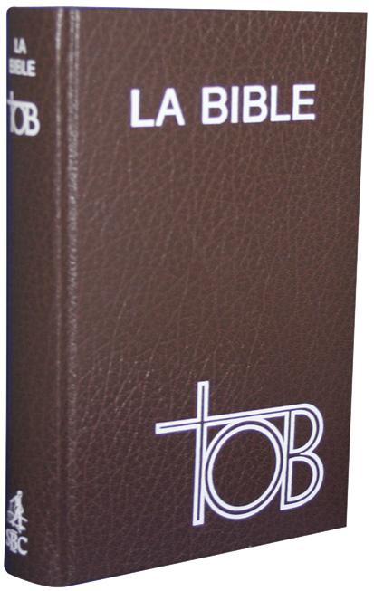 la bible catholique tob