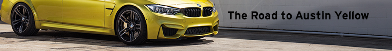 Road to Austin Yellow - F80 M3
