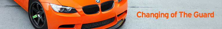 Banner for E92 BMW M3 Farewell