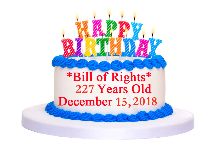 Life Reading of Bill of Rights