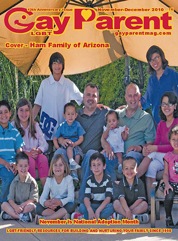 The Ham Family on Gay Parent Magazine
