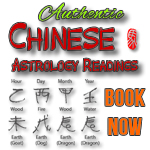 Book your Chinese Astrology Reading