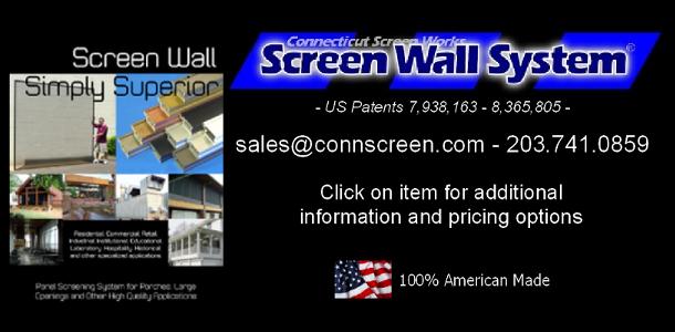 screen wall system splash screen