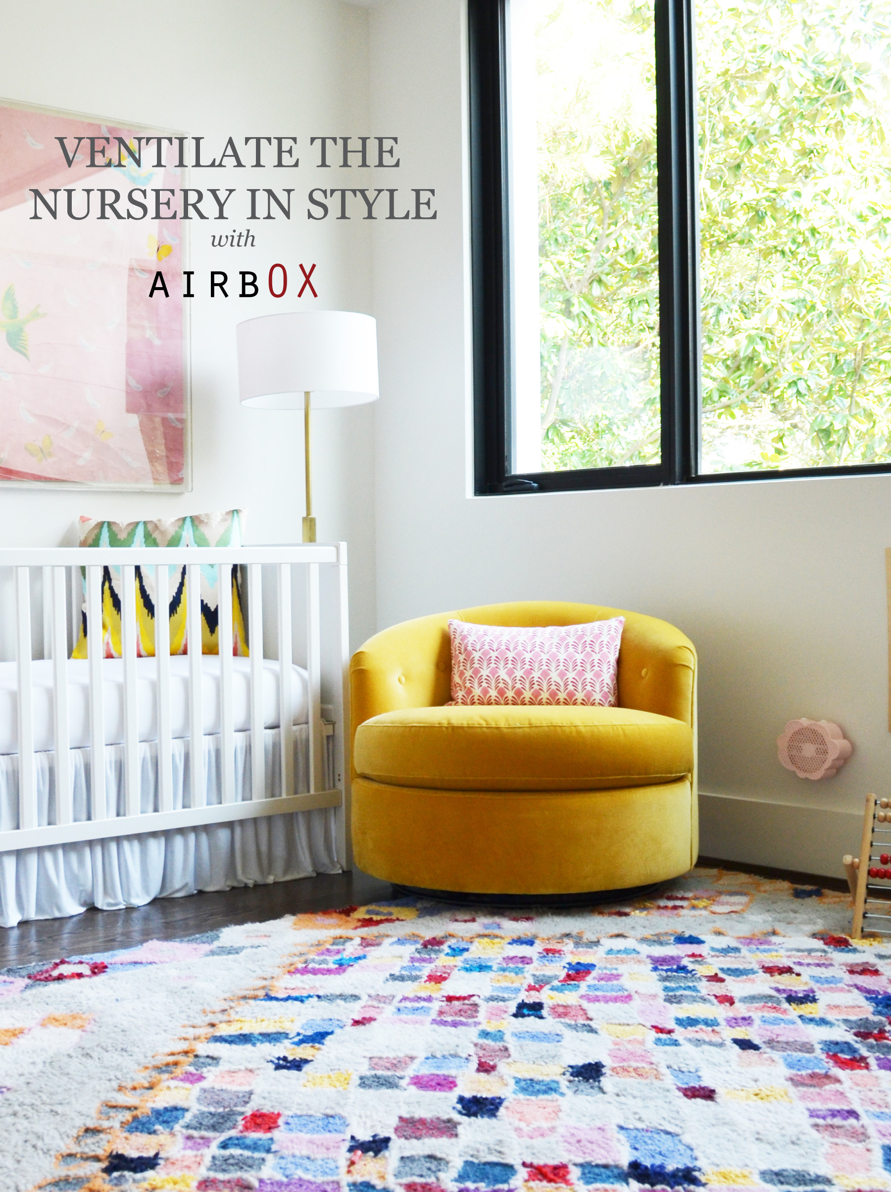 modern breathable crib bedding with airbOX