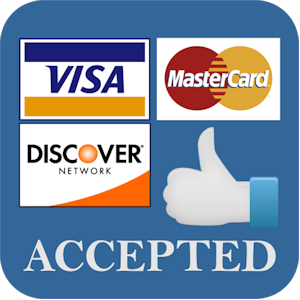 Visa Mastercard Discovery Accepted
