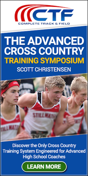 scott christensen cross country workouts