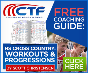 Scott Christensen Cross Country Workouts