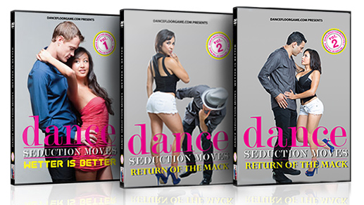 Dance Seduction Moves (Bonus DJ Fuji Interview + Josh Pellicer Interview + Chi's Secrets of Dance Floor Game) $49 (iDA.com)