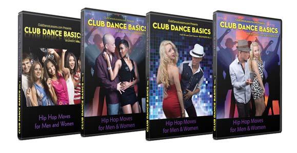 Club Dance Basics - The Complete Series Volume 1~4 (Downloadable Version) (iDA.com)